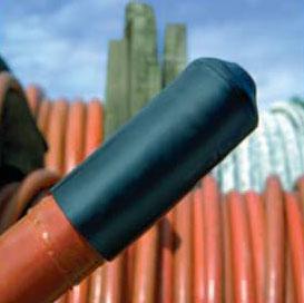 Teplem smrštitelné kabelové uzávěry